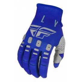 Rukavice KINETIC K121, FLY RACING - USA (modrá/modrá/šedá)