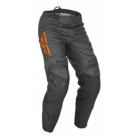 Pants F-16 2021, FLY RACING kids (gray / orange)
