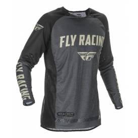 Dres EVOLUTION 2021, FLY RACING - USA (černá/šedá)