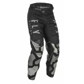 Pants KINETIC K221 2021, FLY RACING (black / gray)