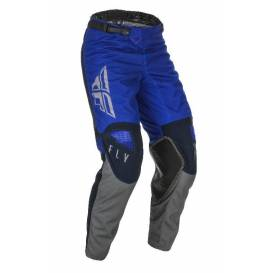 Pants KINETIC K121 2021, FLY RACING (blue / blue / gray)