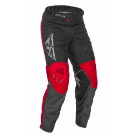 Pants KINETIC K121 2021, FLY RACING (red / gray / black)