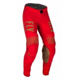 Kalhoty LITE 2021, FLY RACING - USA (červená/zelená)