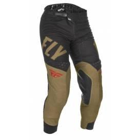 Kalhoty EVOLUTION 2021, FLY RACING - USA (zelená/černá/červená)