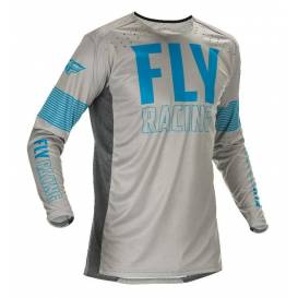 Jersey LITE 2021, FLY RACING (blue / gray)
