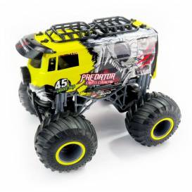 Big Wheel Cars 1:16 Predator Cross Country, 2,4 Ghz, 2WD, RTR, žltá