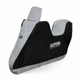 Plachta na sedla skútrů Scooter Seat Cover, OXFORD - Anglie (černá)