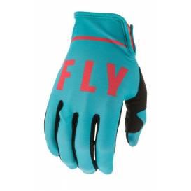 Rukavice LITE 2020, FLY RACING (modrá / červená)