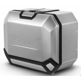 Side aluminum case for SHAD Terra TR47 motorcycle, left