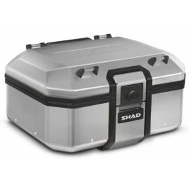 Upper aluminum case for SHAD Terra TR37 motorcycle