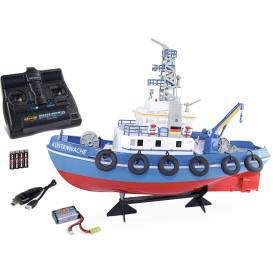 Küstenwache Coast Guard, a ship with a functional water cannon RTR set