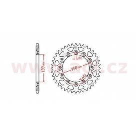 Ocelová rozeta pro sekundární řetězy typu 520, JT - Anglie (46 zubů)