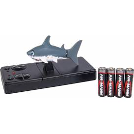 RC Sharky, remote controlled shark, 40 MHz, 100% RTR