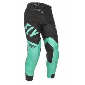 Kalhoty EVOLUTION 2021 LE, FLY RACING - USA (mint zelená/černá)