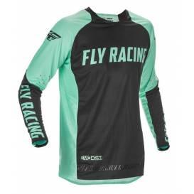 Dres EVOLUTION 2021 LE, FLY RACING - USA (mint zelená/černá)