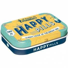Retro Mintbox Happy Pills