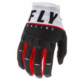 KINETIC K120 2020 Gloves, FLY RACING (black / white / red)