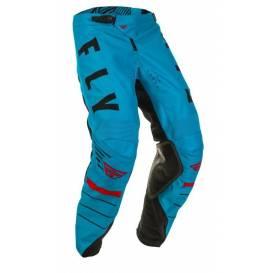Kalhoty KINETIC K120, FLY RACING - USA (modrá/černá/červená)