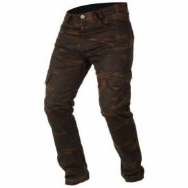 Pants CAMINO, AYRTON (brown camo / washed)