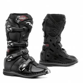 boty FORMA COUGAR - černé - dětské