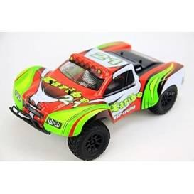Caribe HSP racing 4WD, 1:18, proporcionálne ovládanie, RTR, červená