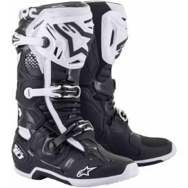 Topánky TECH 10 2021, ALPINESTARS (čierna / biela)
