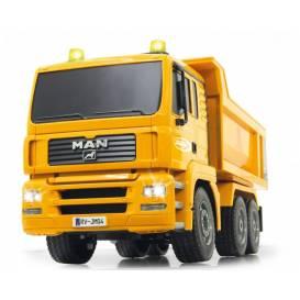 DUMP TRUCK 4WD Sklápěč 1:20, funkční korba, zvuk, LED, RTR