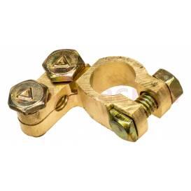 Brass battery terminal 15.9 mm Clasic -