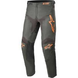 Pants RACER COMPASS 2021, ALPINESTARS, children (black anthracite / orange fluo)