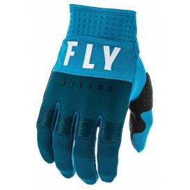 Gloves F-16 2020, FLY RACING (navy / blue / white)
