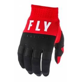 Rukavice F-16 2020, FLY RACING (červená / čierna / biela)