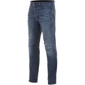 Kalhoty SHIRO DENIM kolekce DIESEL JEANS, ALPINESTARS (sepraná modrá)