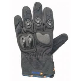 Moto rukavice XMOTOS dětské - černé