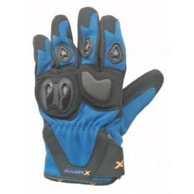 Moto rukavice XMOTOS dětské - černo/modré