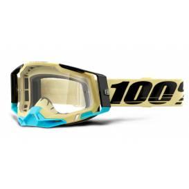 RACECRAFT 2 100% - USA, Airblast glasses - clear plexiglass