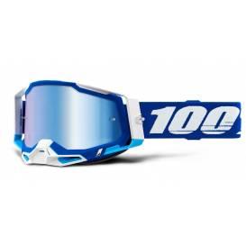 RACECRAFT 2 100% - USA, blue glasses - mirror blue plexiglass