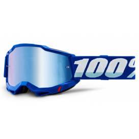 ACCURI 2 100% - USA, blue glasses - mirror blue plexiglass