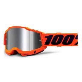 ACCURI 2 100% - USA, Orange glasses - mirror silver plexiglass