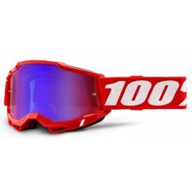 ACCURI 2 100% - USA, red glasses - mirror red / blue plexiglass
