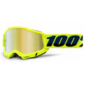 ACCURI 2 100% - USA, yellow glasses - mirror gold plexiglass