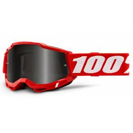 ACCURI 2 100% - USA, Sand glasses red - smoky plexiglass