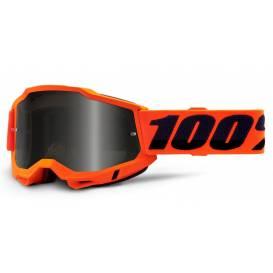 ACCURI 2 100% - USA, Sand glasses Orange - smoky plexiglass