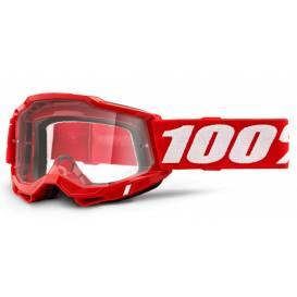 ACCURI 2 100% - USA, OTG glasses red - clear plexiglass