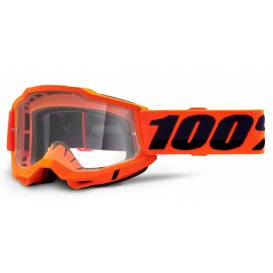 ACCURI 2 100% - USA, OTG glasses Orange - clear plexiglass