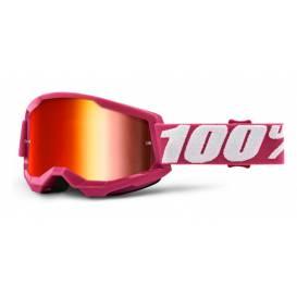 LOSS 2 100% - USA, Fletcher glasses - mirrored red plexiglass