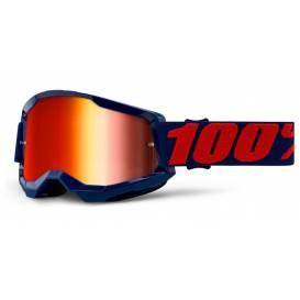 LOSS 2 100% - USA, Masego glasses - mirrored red plexiglass