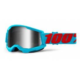LOSS 2 100% - USA, Summit glasses - mirrored silver plexiglass
