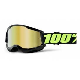 LOSS 2 100% - USA, Upsol glasses - mirrored gold plexiglass