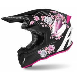 Helmet TWIST 2.0 MAD, AIROH - Italy (black / pink) 2021