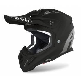 Helmet AVIATOR ACE COLOR, AIROH - Italy (black-matt) 2021